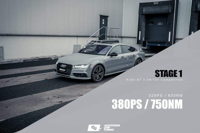Stage 1 Optimierung | Audi A7 Competition