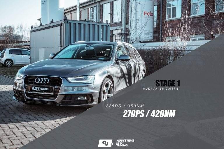 Stage 1 Optimierung | Audi A4 B8 2.0TFSI