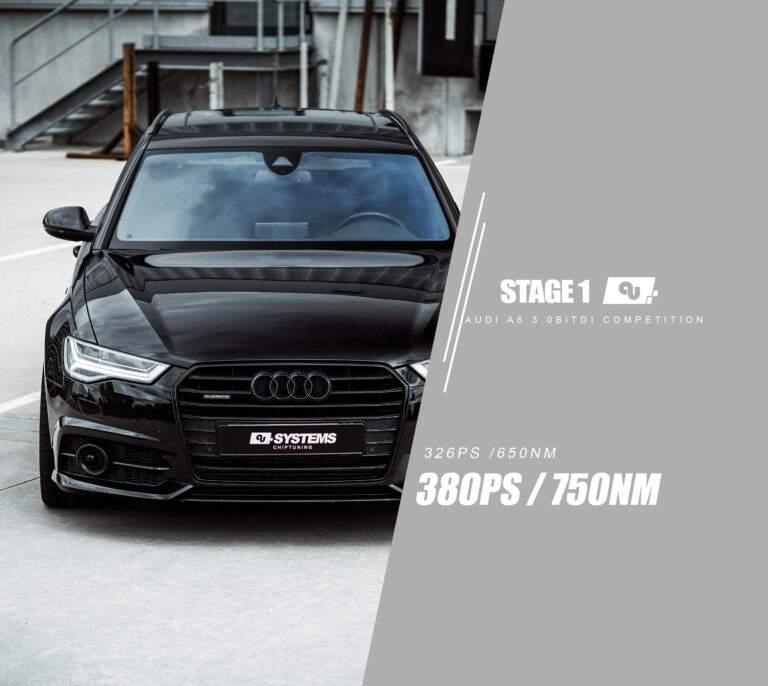 Stage 1 Optimierung Audi A6 3.0BiTDI