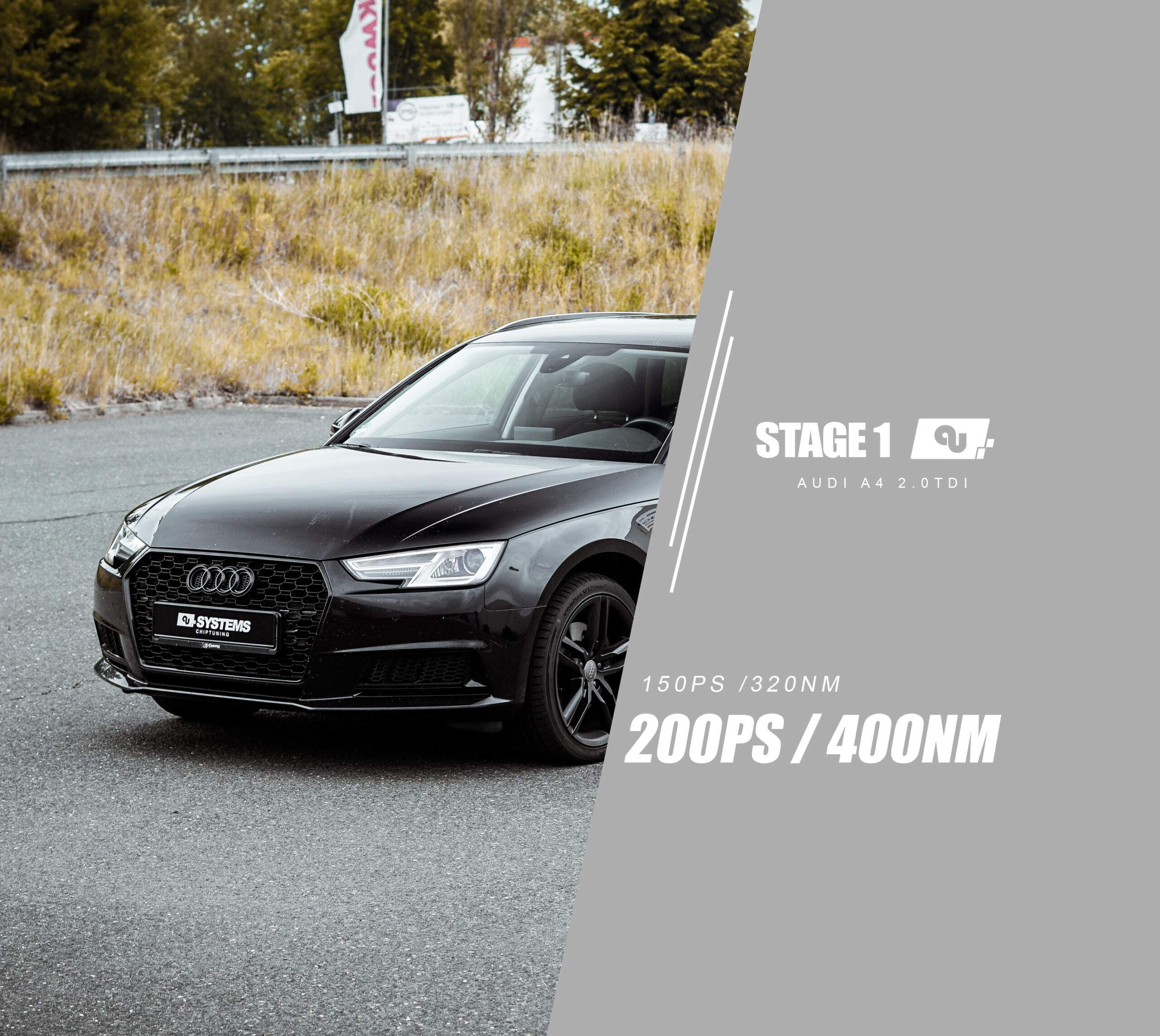 Stage 1 Optimierung Audi A4 B9 2.0TDI