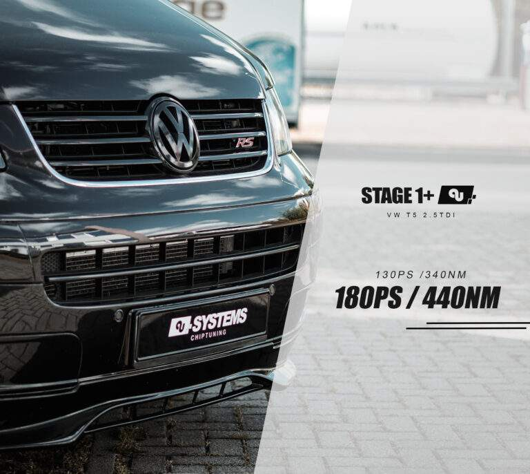 Stage 1+ Optimierung VW T5 2.5TDI