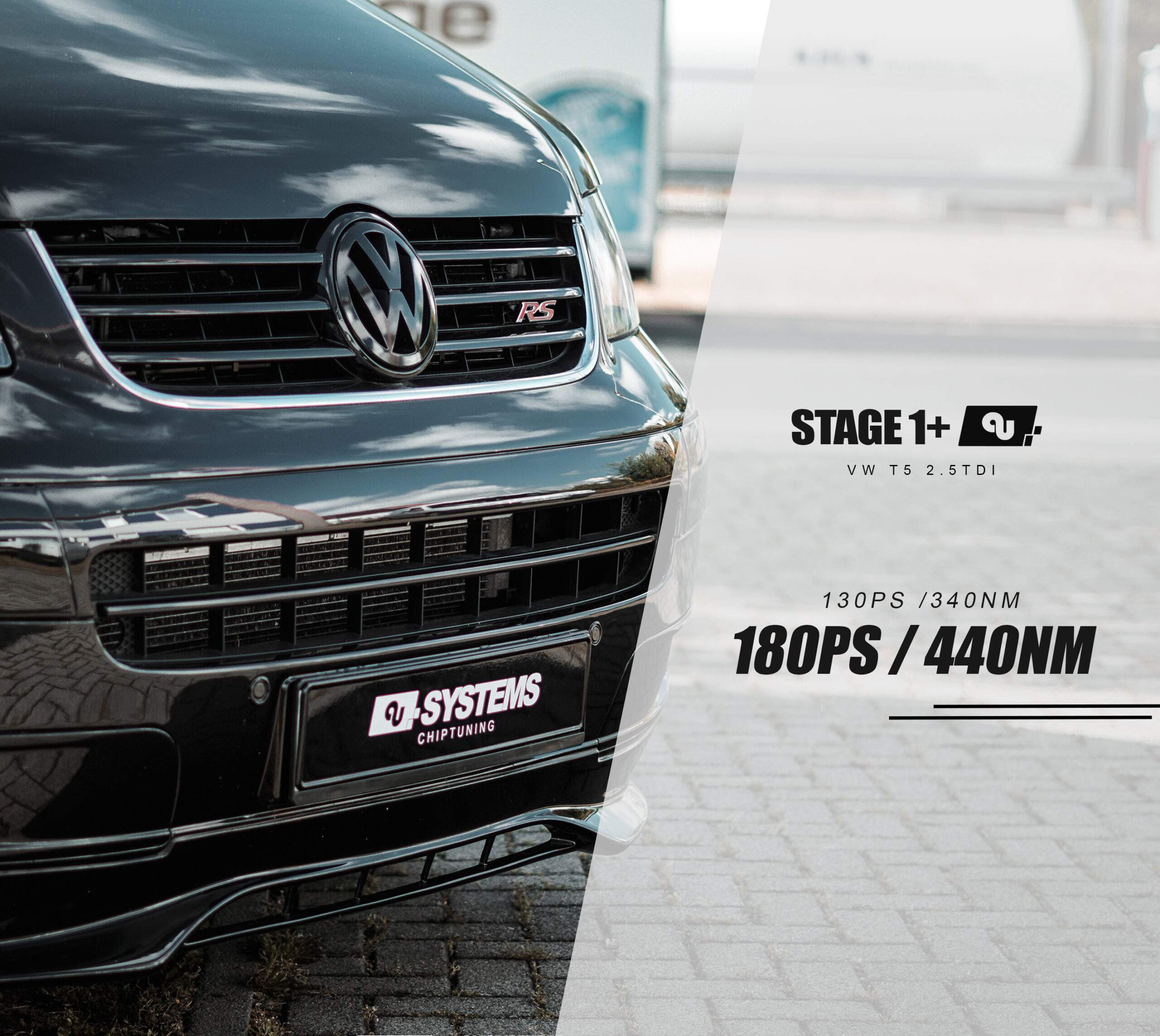 Stage 1+ Optimierung VW T5 2.5TDI