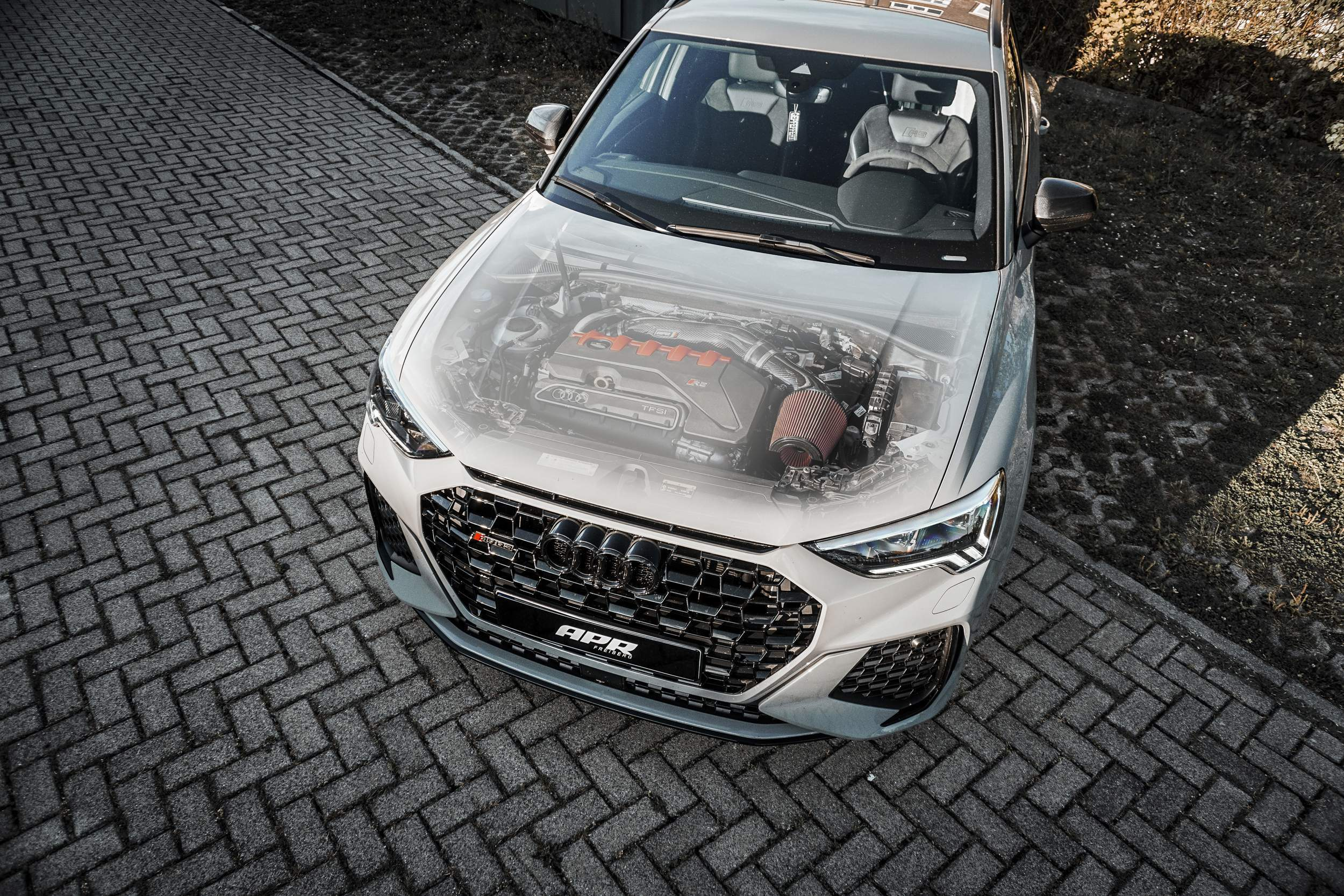 APR | OPEN AIR INTAKE & TURBOINLET Audi RS Q3 (OPF)