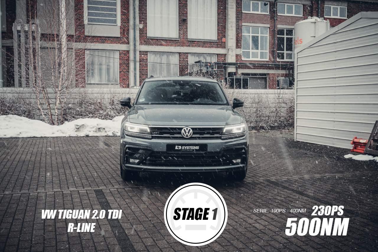 Stage 1 Optimierung VW Tiguan 2.0TDI