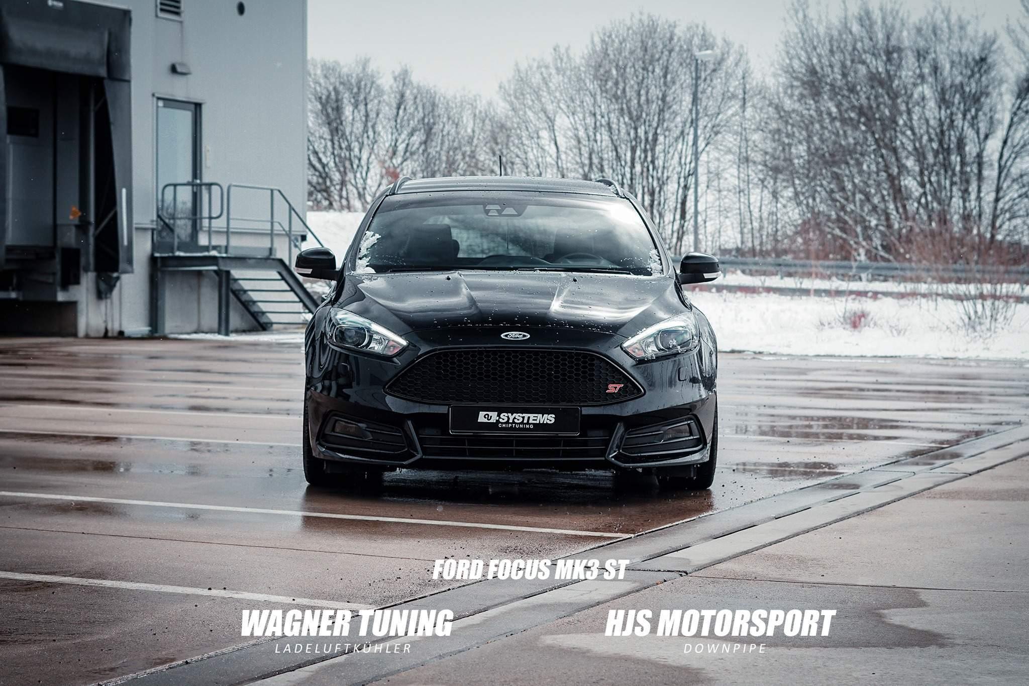 Ford Focus MK3 ST Downpipe & Ladeluftkühler